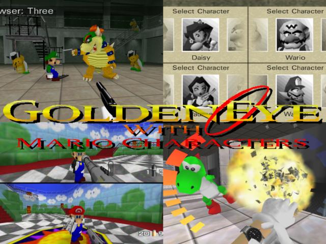 GoldenEye Mario Edition