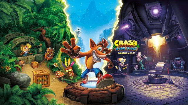 Crash Bandicoot N Sane Trilogy Artwork