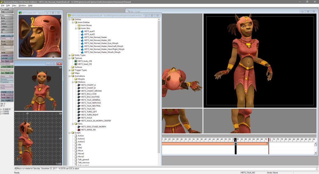 Sphinx and the Cursed Mummy Dev Tools 3