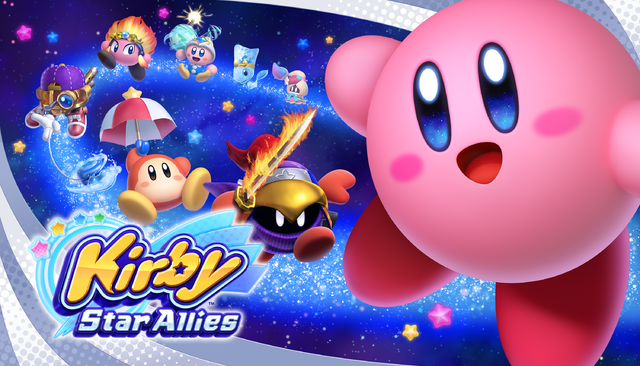 Kirby Star Allies Artwork