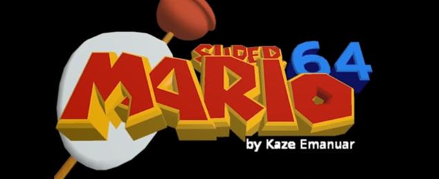 Ocarina of Time Mario Hack Logo