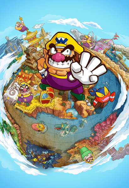 Wario Land Artwork