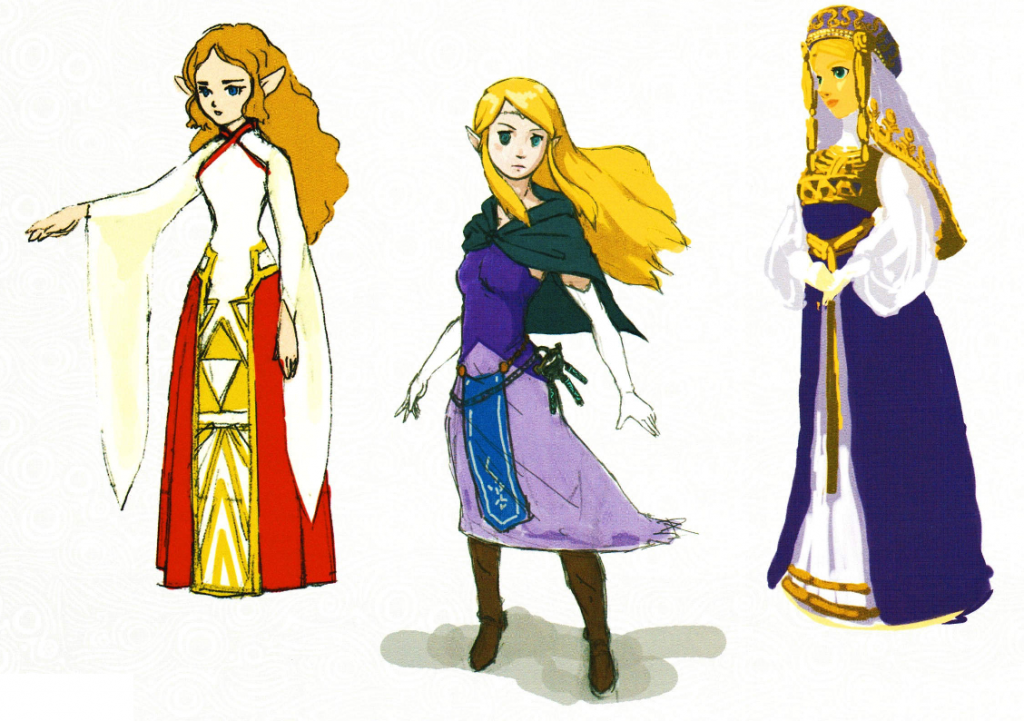 Early Zelda Designs 1