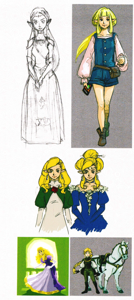 Early Zelda Designs 2