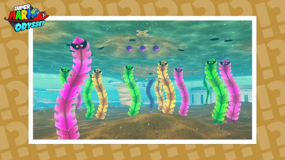 New Mario Odyssey Hint Art
