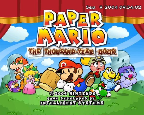 Paper Mario 2 Build Date