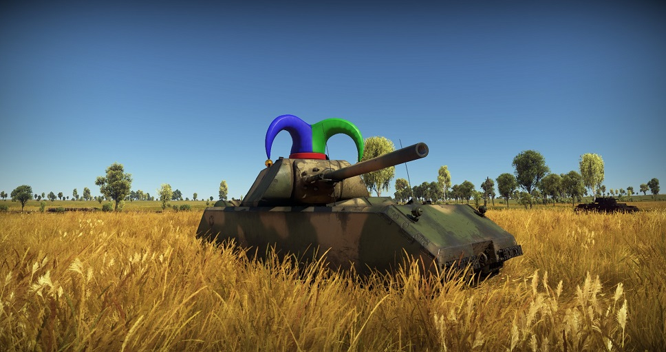 Tank with Hat