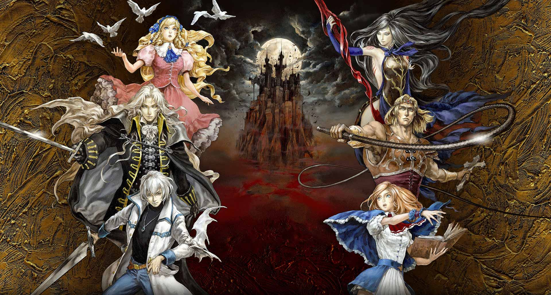 Castlevania Grimoire of Souls Artwork