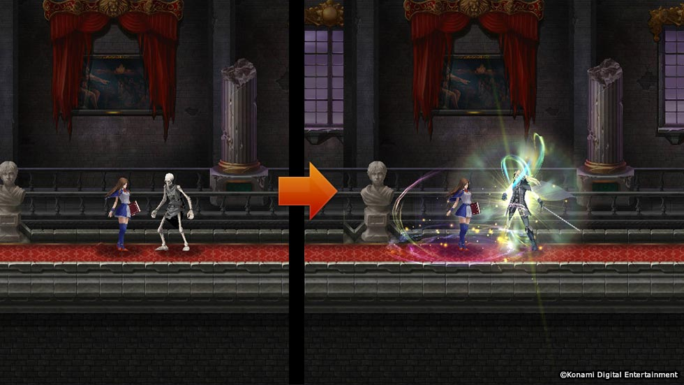 Castlevania Grimoire of Souls Screenshot 2