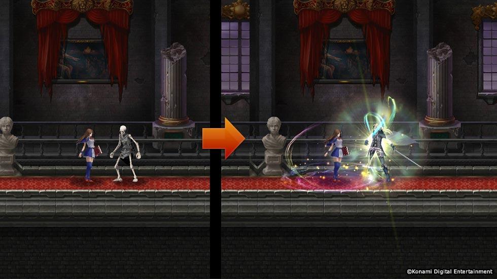 Castlevania Grimoire of Souls Screenshot 2