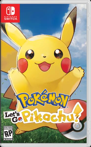 Let's Go Pikachu Box