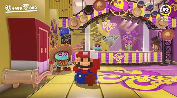 New Video Shows Unused Super Mario Odyssey S Unused Costumes