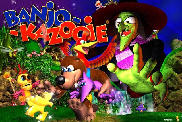 Banjo-Kazooie Artwork