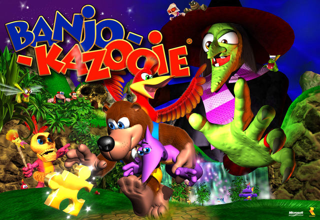Banjo-Kazooie Artwork
