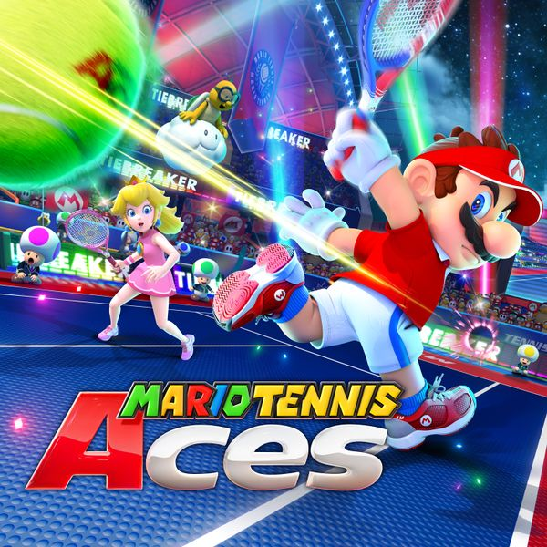 Mario Tennis Aces Artwork