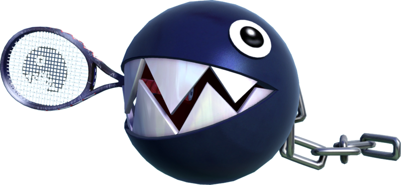 Mario Tennis Aces Chain Chomp