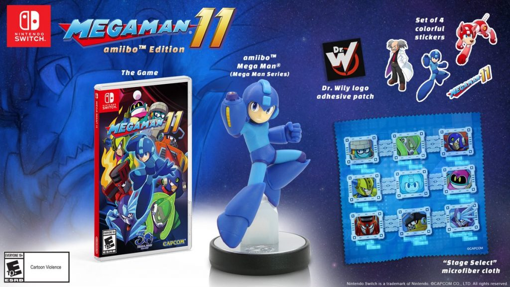 Mega Man 11 Collectors Edition