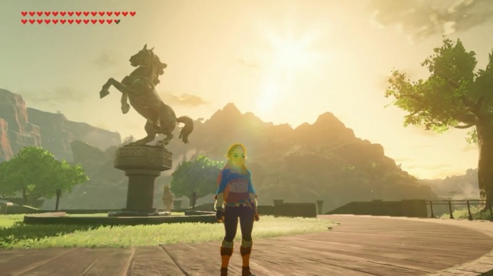 Playable Zelda Mod