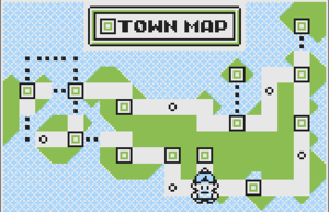 Early Johto Map