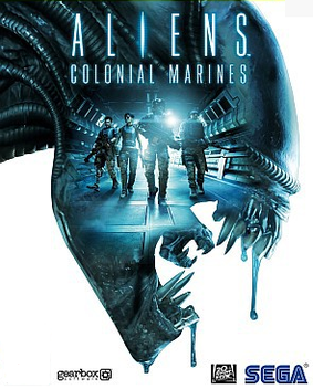 Aliens Colonial Marines Box