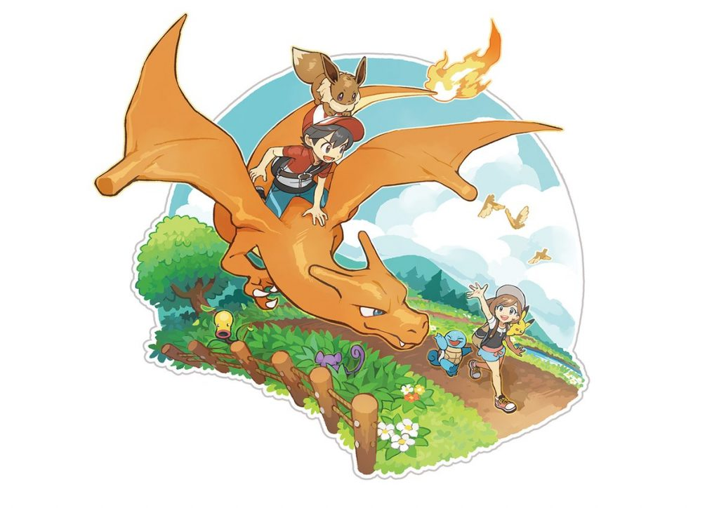 Pokemon Let's Go Pikachu/Let's Go Eevee Artwork 2