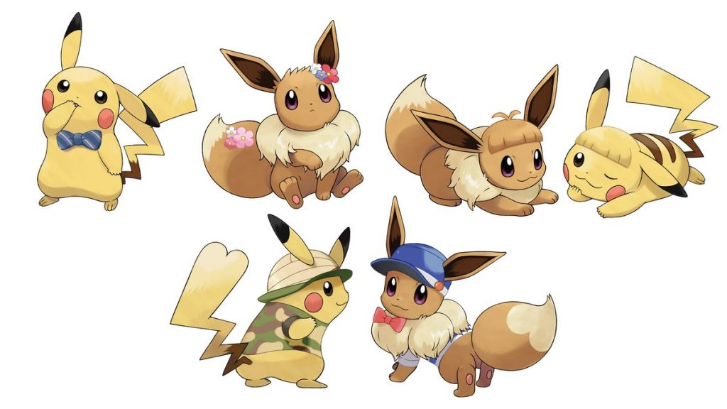 Pokemon Let's Go Pikachu/Let's Go Eevee Artwork 3