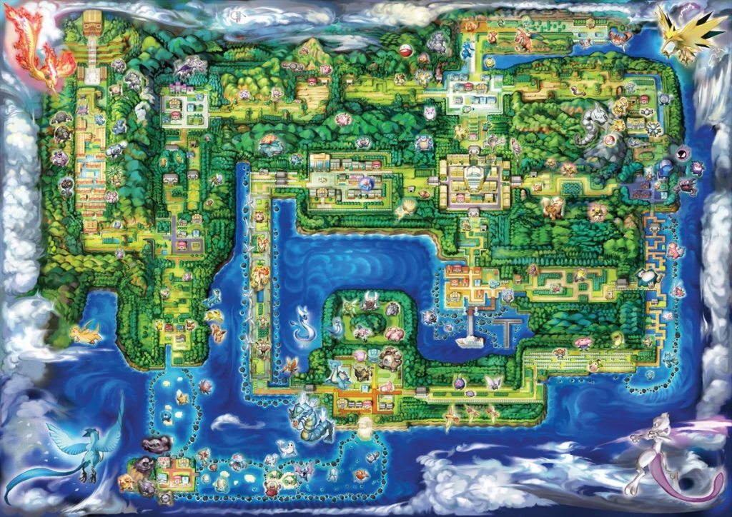 New Kanto Map