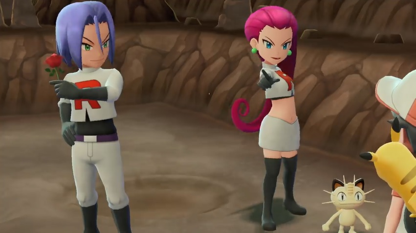 Team Rocket Appearance in Let's Go Pikachu/Eevee