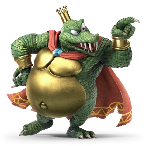 King K Rool Artwork
