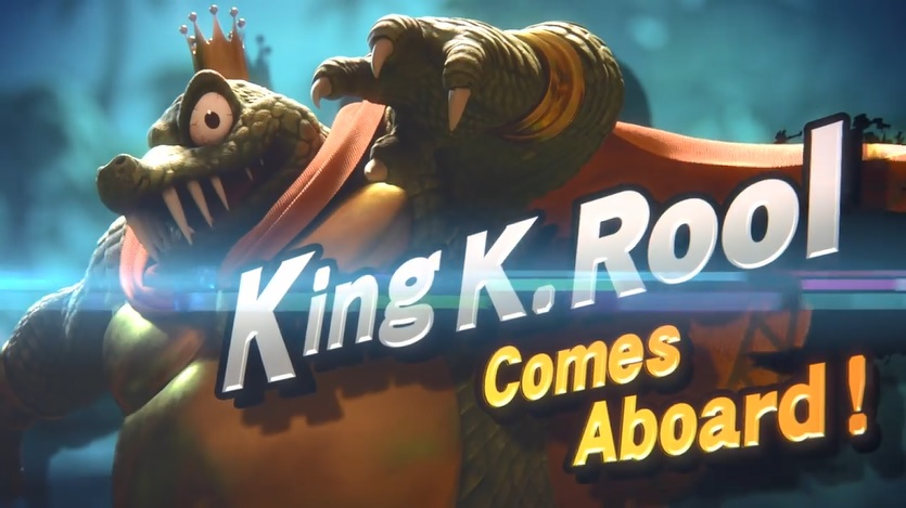 King K Rool Announcement