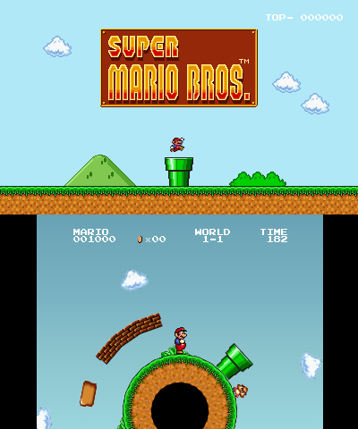 Super Mario All Stars Version