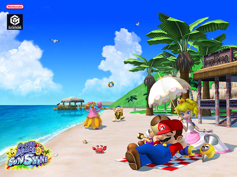 Mario Sunshine Artwork