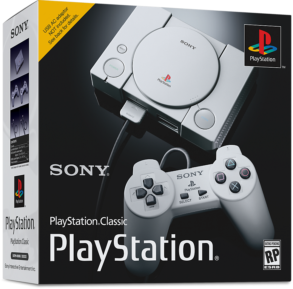 PlayStation Classic Box