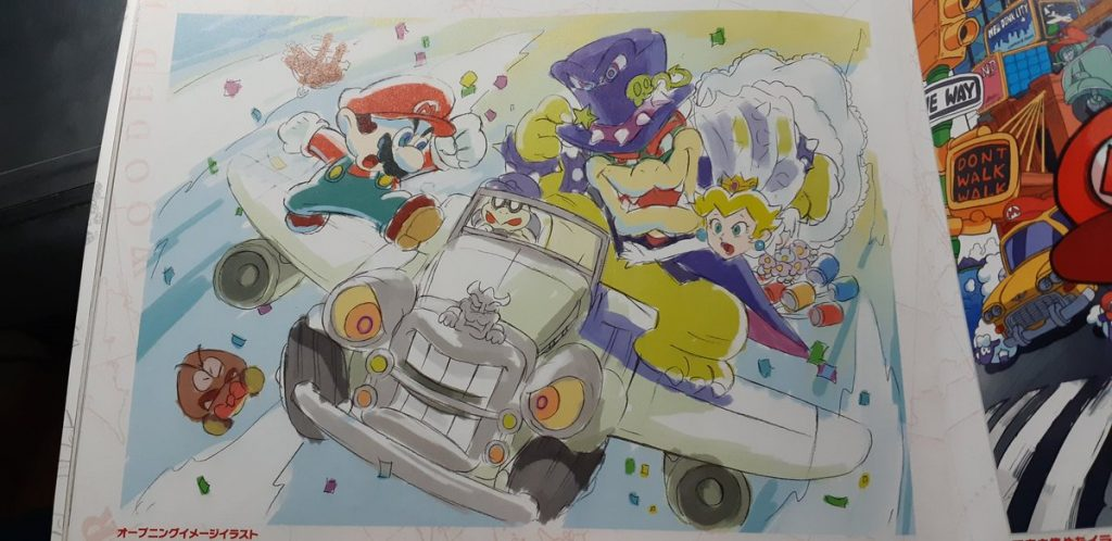 Bowser's Wedding Car/Plane