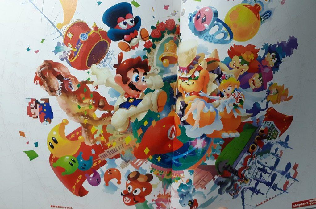 Super Mario Odyssey Concept Art