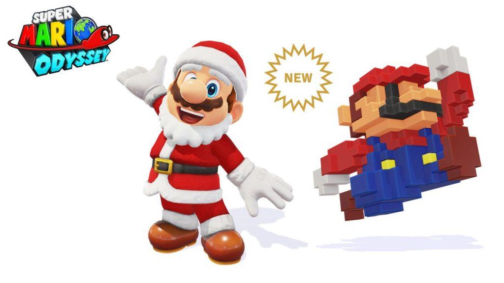 Mario Odyssey Santa Outfit