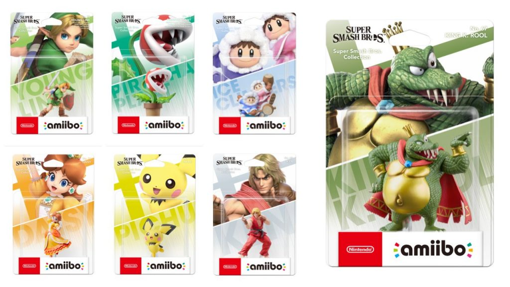 Super Smash Bros Ultimate Amiibo