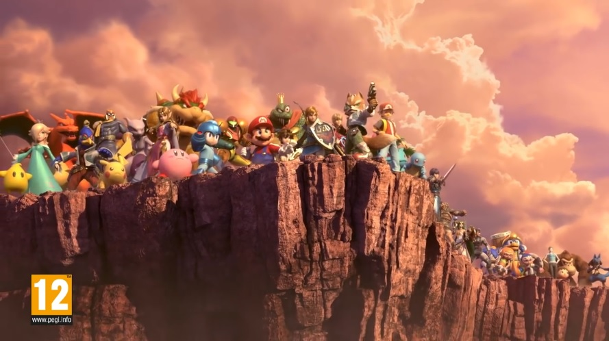 Smash Bros Ultimate Characters