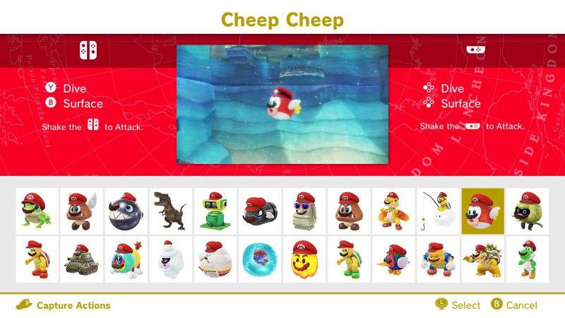 Cheep Cheep Controls