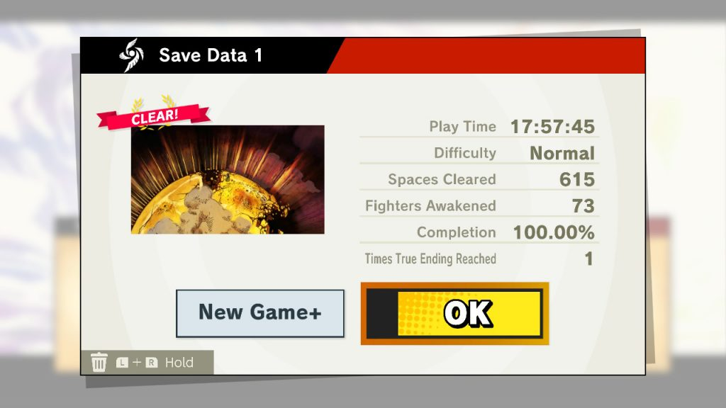 Completed World of Light Save File