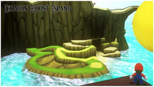 Dragon Roost Isle Mario Odyssey