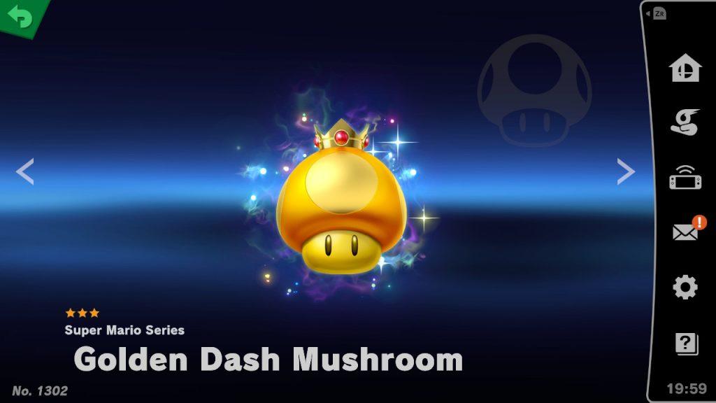 Golden Dash Mushroom Spirit