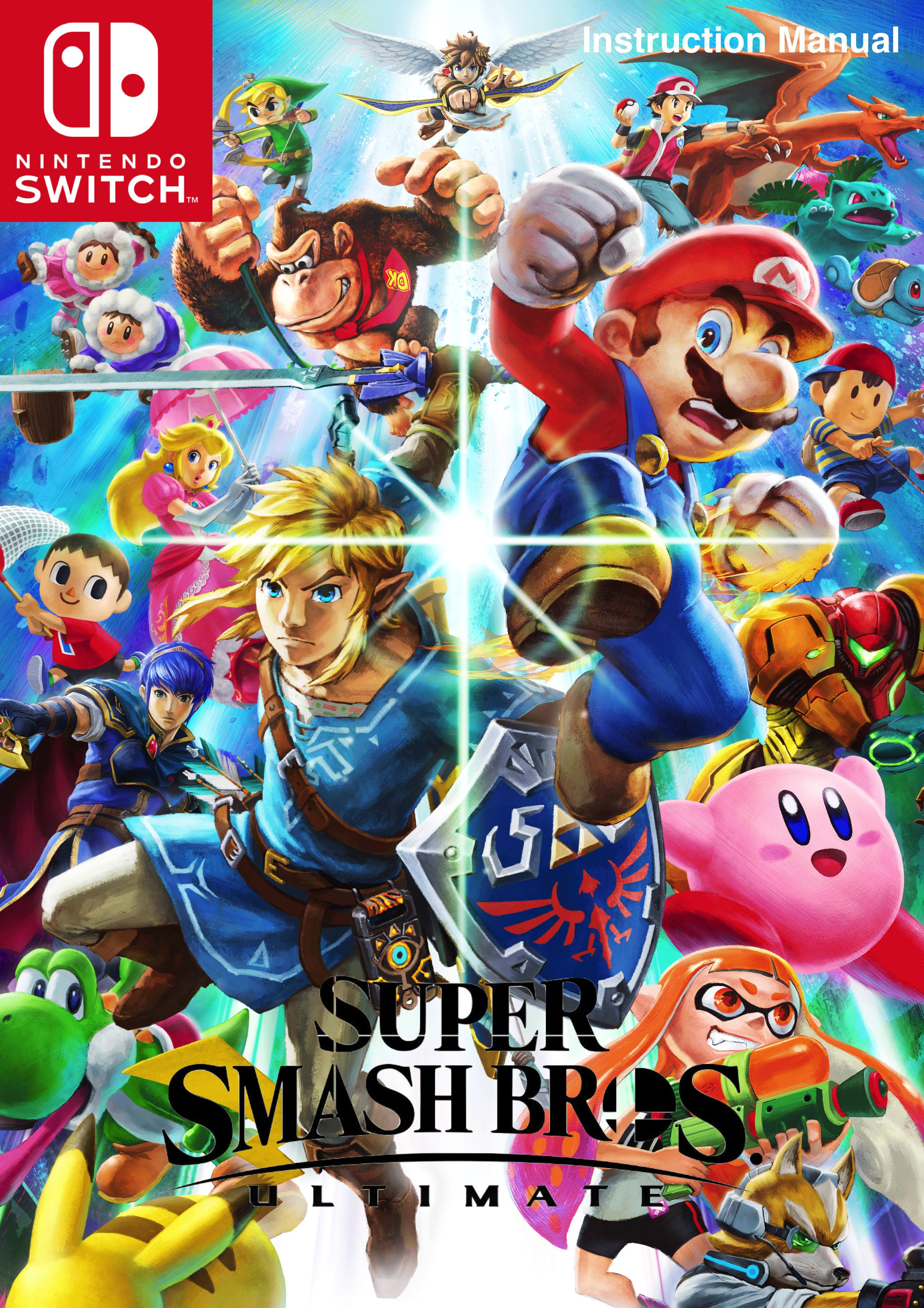 Smash Bros Ultimate ManualCover