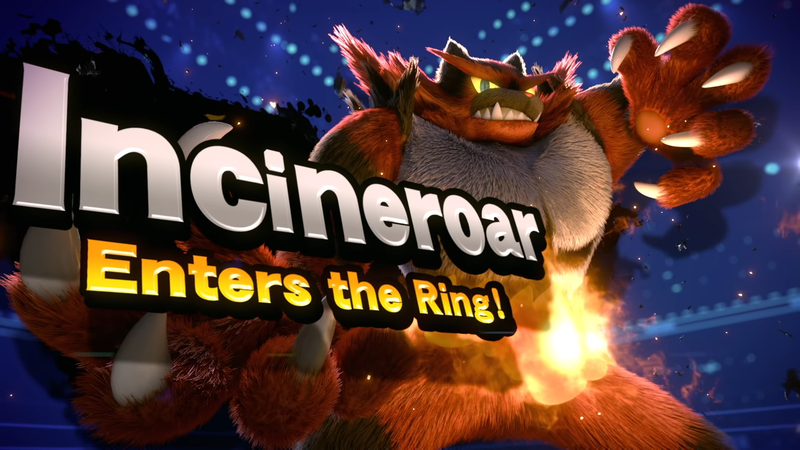 Incineroar Enters the Ring