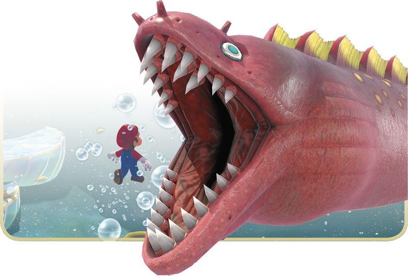 Super Mario Odyssey Maw-Ray