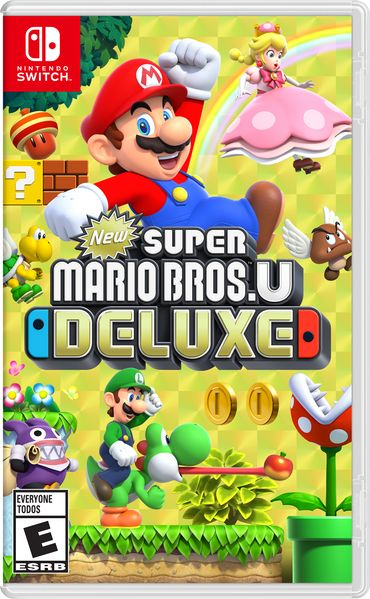 New Super Mario Bros U Deluxe Box Art
