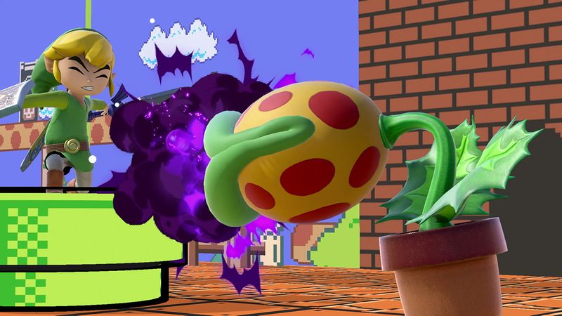 Random Piranha Plant Screenshot