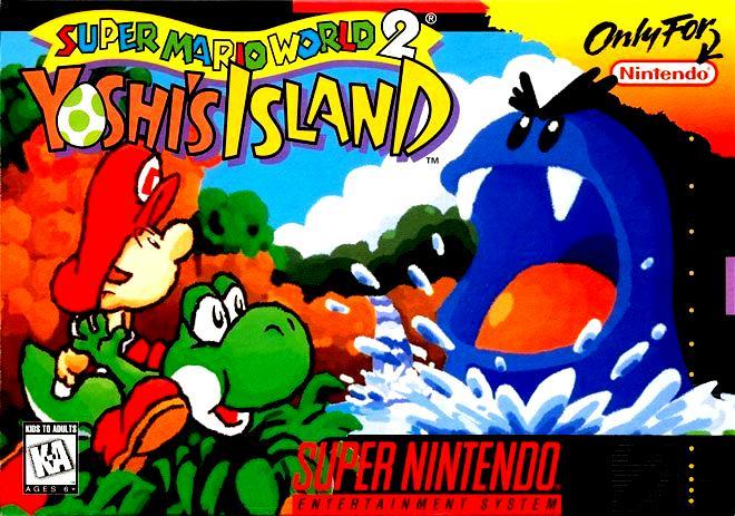 Yoshi's Island Box Art