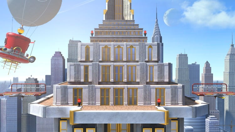 New Donk City in Smash Bros Ultimate