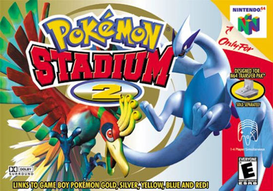 Pokemon Stadium 2 Box Art